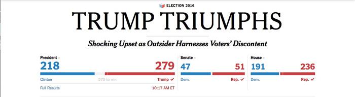 A NY Times Headline